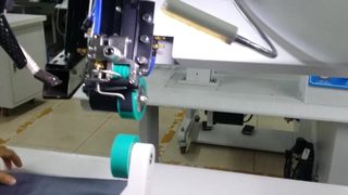 Hot Air Seam Sealing Machine for Outdoor Apparel