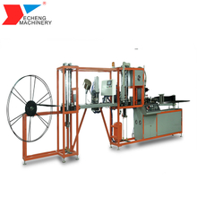 Hot air welding for continuous keder production
